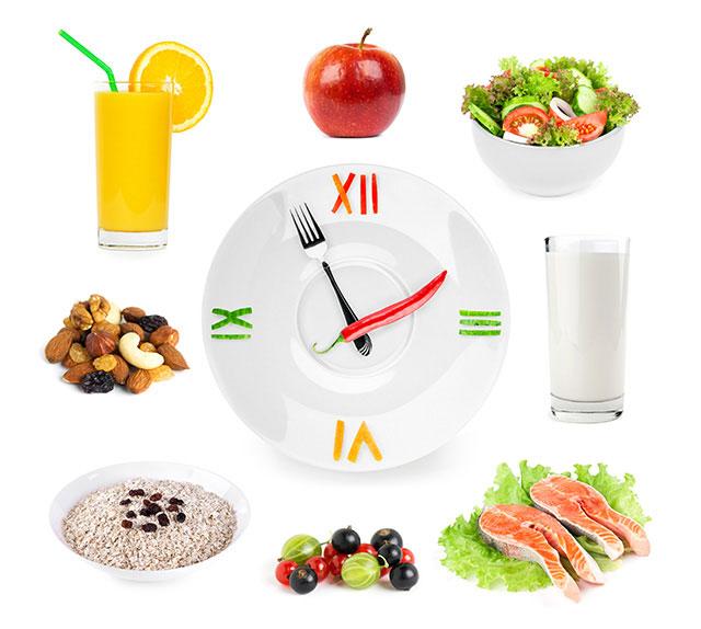 اهمیت زمان بندی غذای ورزشکاران