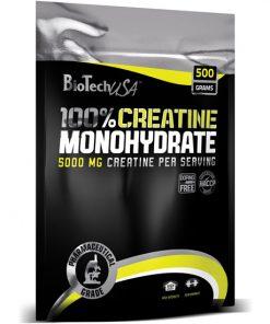 کراتین 100% مونوهیدرات بایوتک ( بسته 500 گرمی )