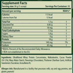 جدول ارزش غذایی پروتئین وی بلاست سایتک نوتریشن