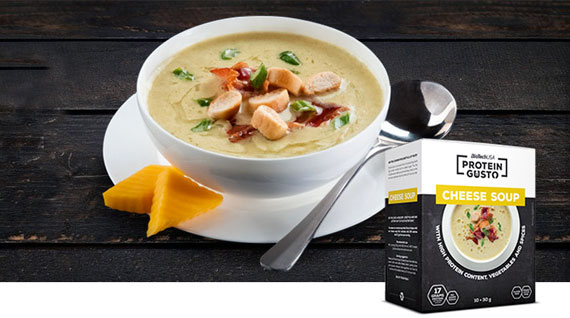 CHEESE SOUP PROTEIN GUSTO بایوتک