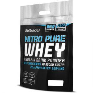 پروتئین نیترو پیور وی بایوتک ( 2200 گرمی )