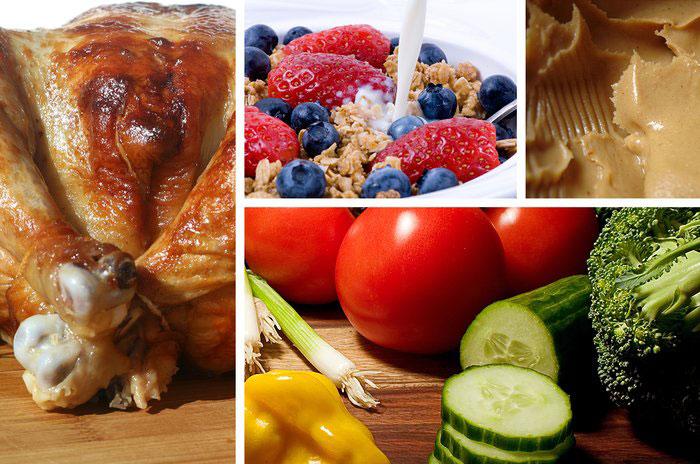 وعده های غذایی روزانه