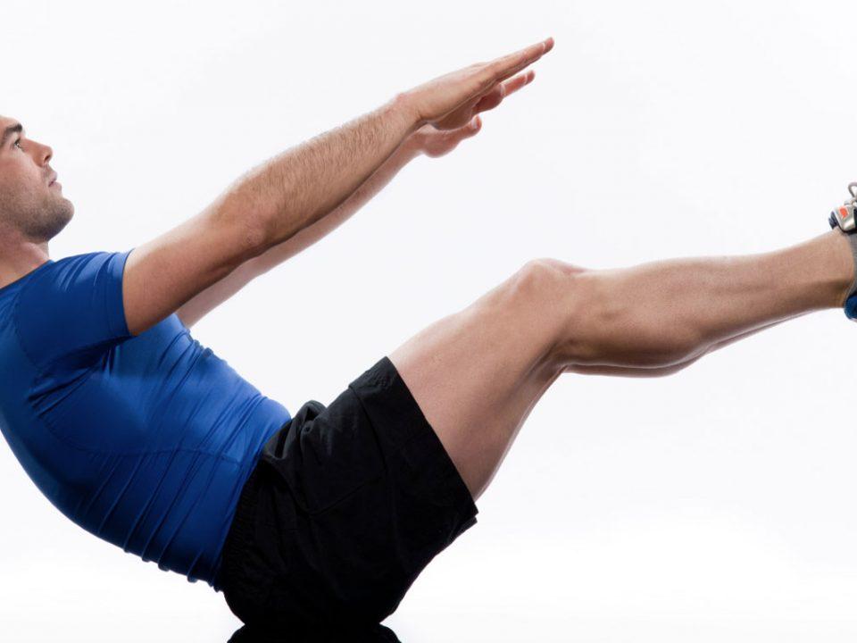 تمرین hollow body hold