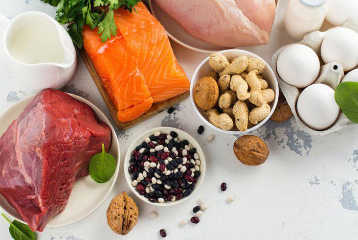 میزان مصرف پروتئین روزانه