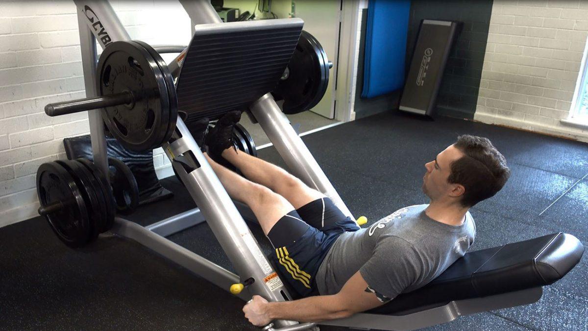 تمرین ساق پا دستگاه
