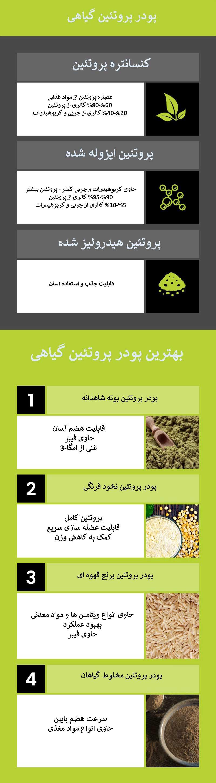 پروتئین گیاهی در بدنسازی