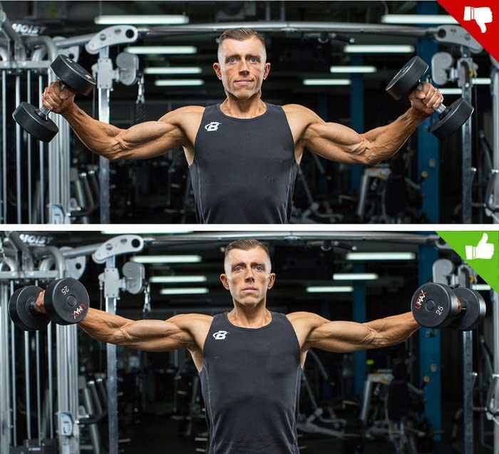 جلوگیری از حرکات کامل آرنج