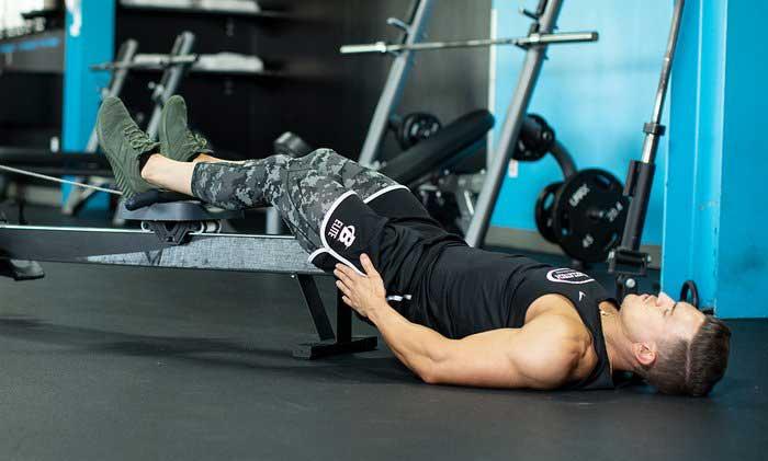 تمرین پشت پا خوابیده