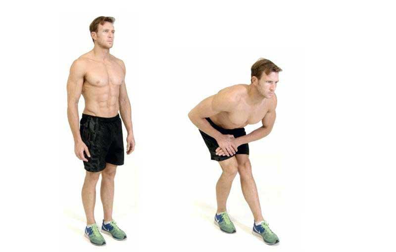 کشش عضلات دو قلو