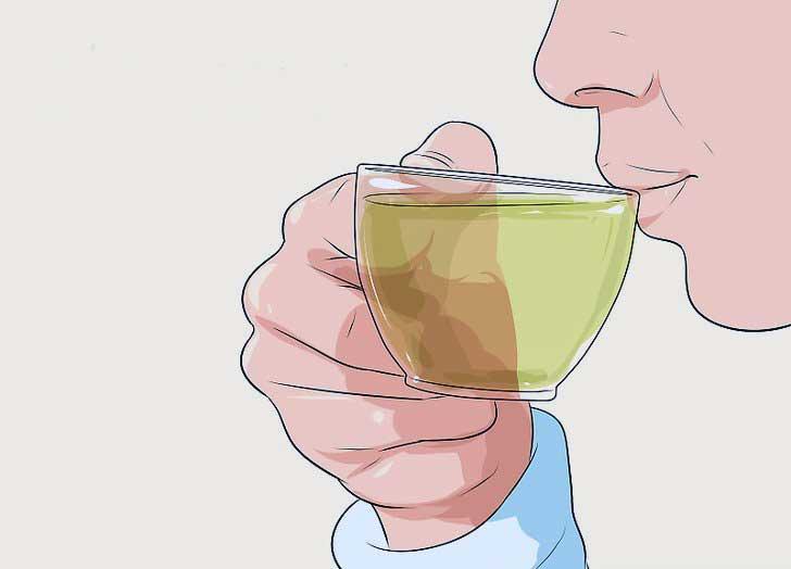 مصرف چای سبز برای لاغری شکم و پهلو