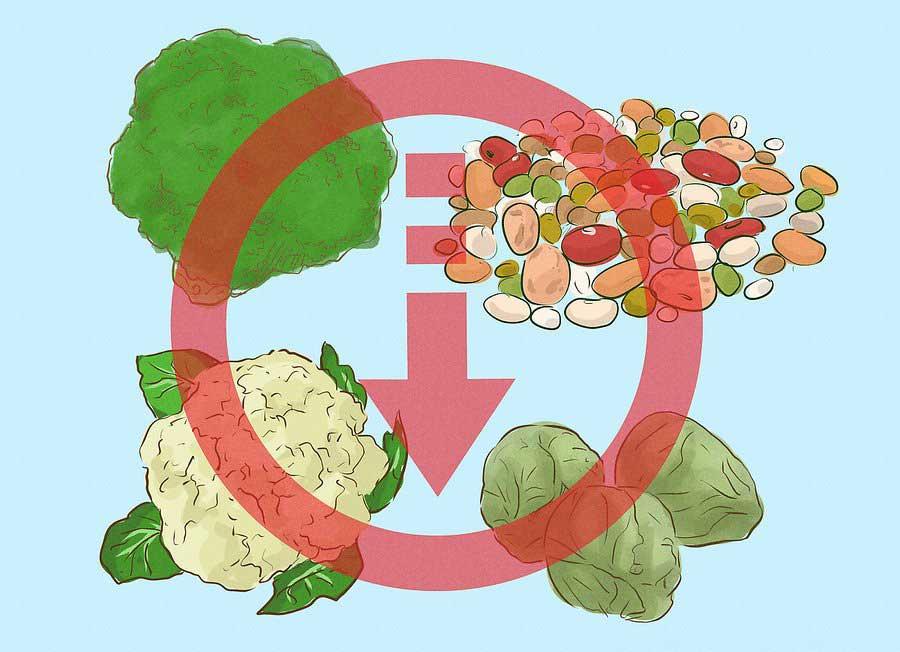 کاهش مصرف فیبر برای لاغری شکم