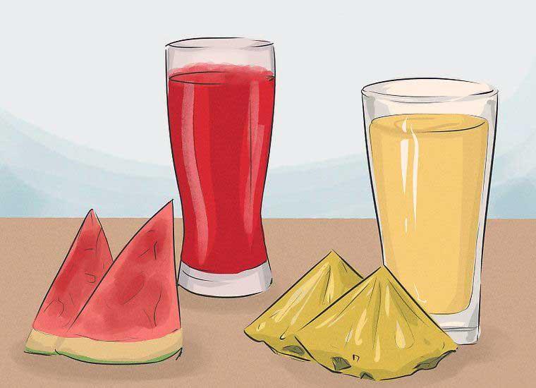 نوشیدن اسموتی برای لاغری شکم و پهلو