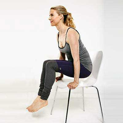 تقویت عضلات مرکزی : نگه داشتن عضلات شکم