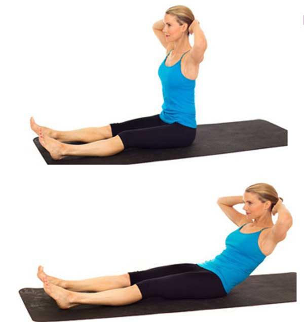 ورزش پیلاتس : کشش گردن