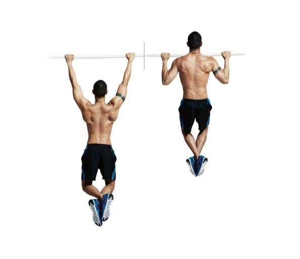 حرکت بارفیکس دست جمع برای تقویت عضلات ساعد