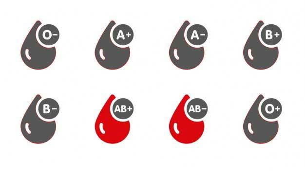 گروه خونی AB