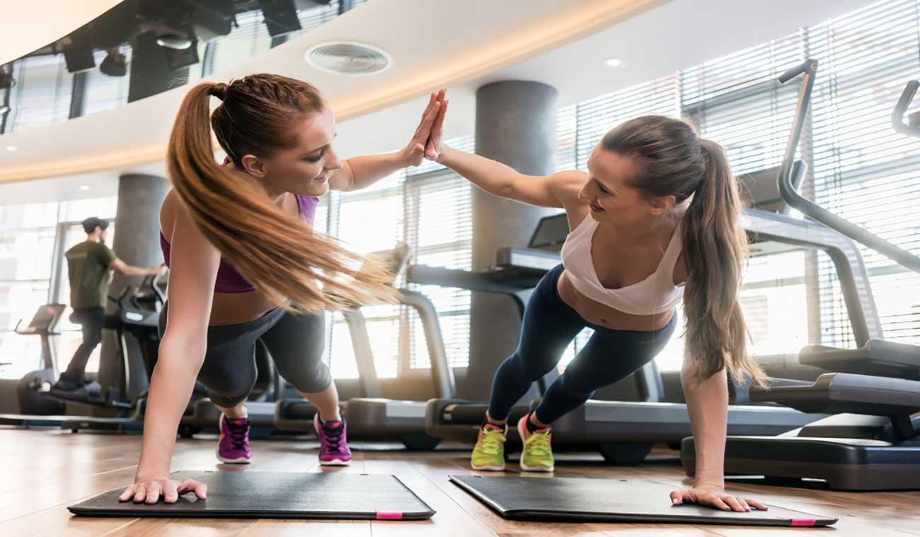 تمرینات جذاب برای عضلات شکم بانوان