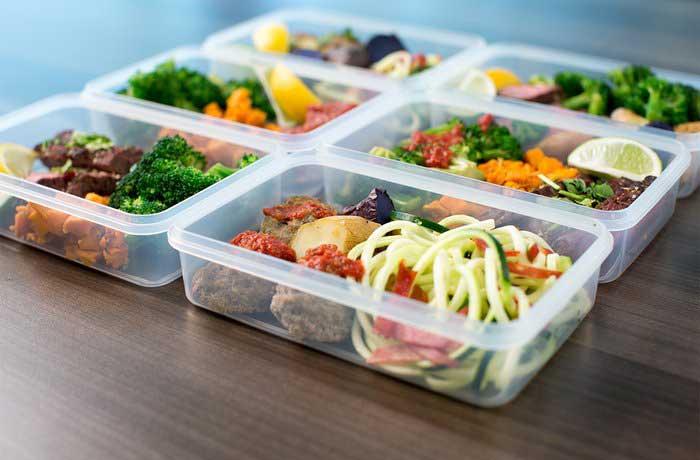 برنامه غذایی رژیم افزایش وزن و حجم