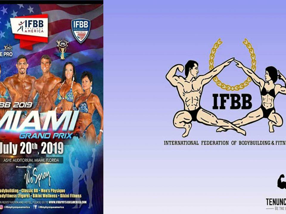 ثبت نام مسابقه IFBB میامی گرند پریکس 2019