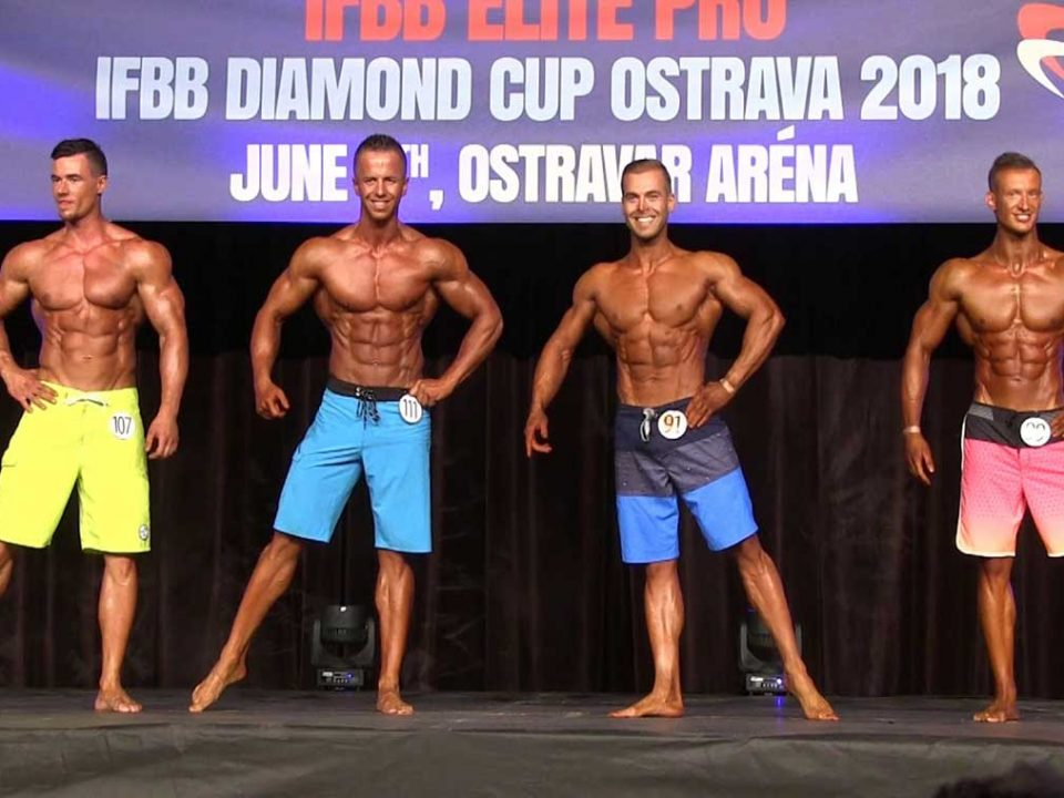 نتیجه مسابقه IFBB دیاموند کاپ 2019