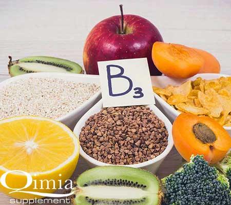 ویتامین های مورد نیاز ورزشکاران : ویتامین B3