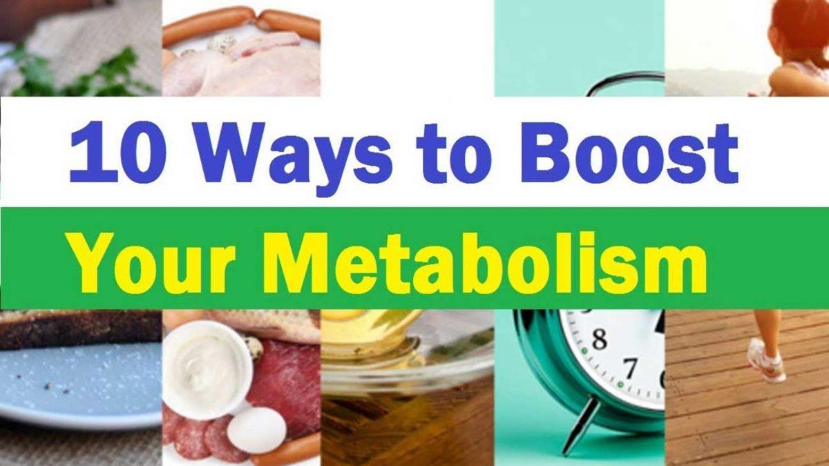 10 روش افزایش متابولیسم بدن