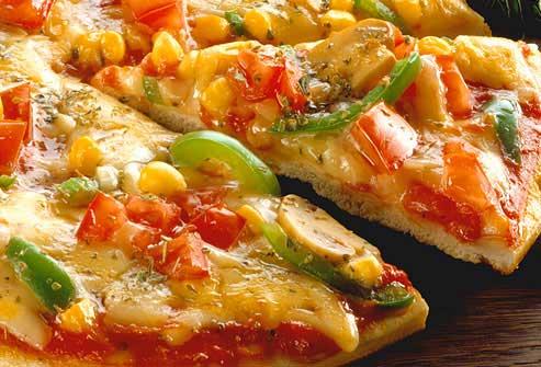 مصرف پیتزای سبزیجات برای کمک به کاهش وزن
