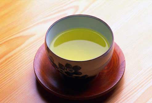 نوشیدن چای سبز برای کاهش وزن