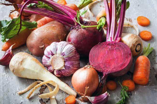 مصرف سبزیجات ریشه دار در رژیم غذایی نوردیک