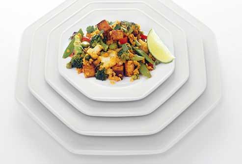 با تغییر سایز ظرف غذا ، لاغرتر شوید!