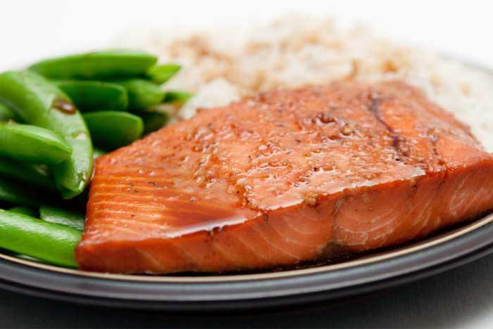 عضله سازی با مصرف ماهی