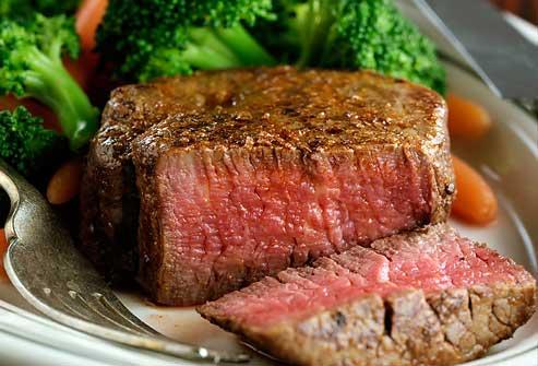 مصرف گوشت گاو بدون چربی در رژیم پروتئین لاغری