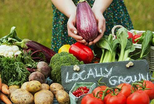 تغذیه سالم با مصرف مواد غذایی ارگانیک