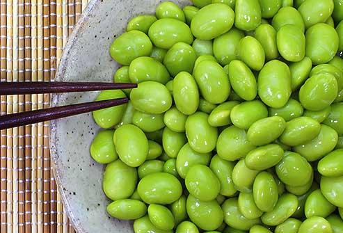 سویا سبز اسنکی کم کربوهیدرات