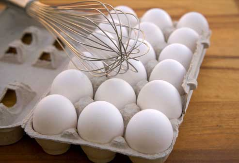مصرف تخم مرغ در رژیم پروتئین برای لاغری