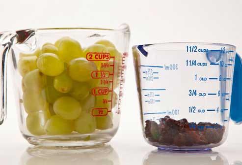 مصرف انگور و کشمش برای کاهش وزن و چربی سوزی