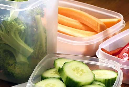 مصرف سبزیجات خام و تازه برای کمک به چربی سوزی