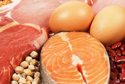 میزان مصرف پروتئین در رژیم لاغری پروتئین