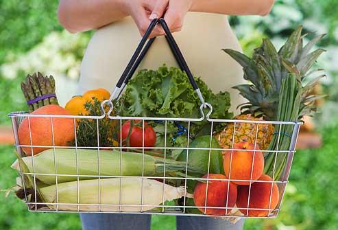 مصرف میوه و سبزیجات در رژیم پروتئین برای کاهش وزن