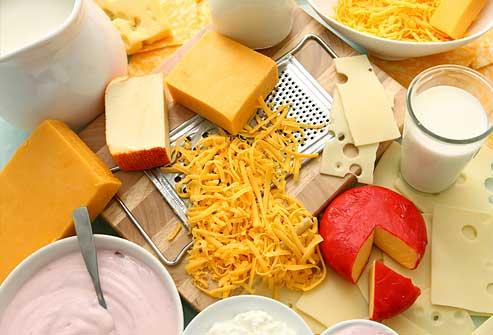 مصرف محصولات لبنی کم چرب در رژیم غذایی پروتئین