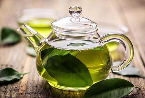 تغذیه سالم با نوشیدن چای سبز