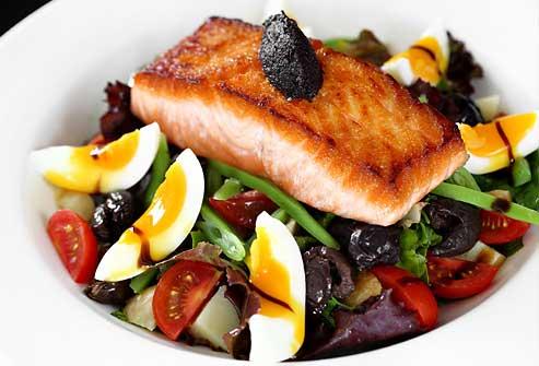 انتخاب صحیح مواد غذایی در رژیم پروتئین لاغری