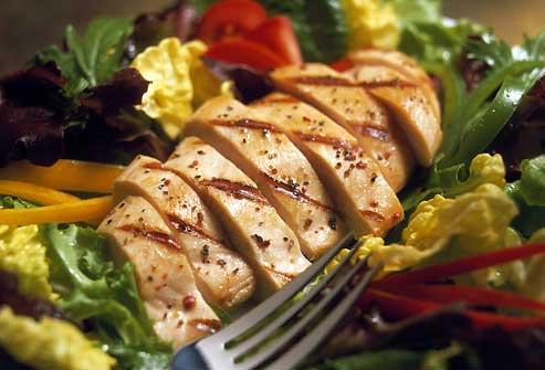 انتخاب گوشت سفید در رژیم پروتئین لاغری