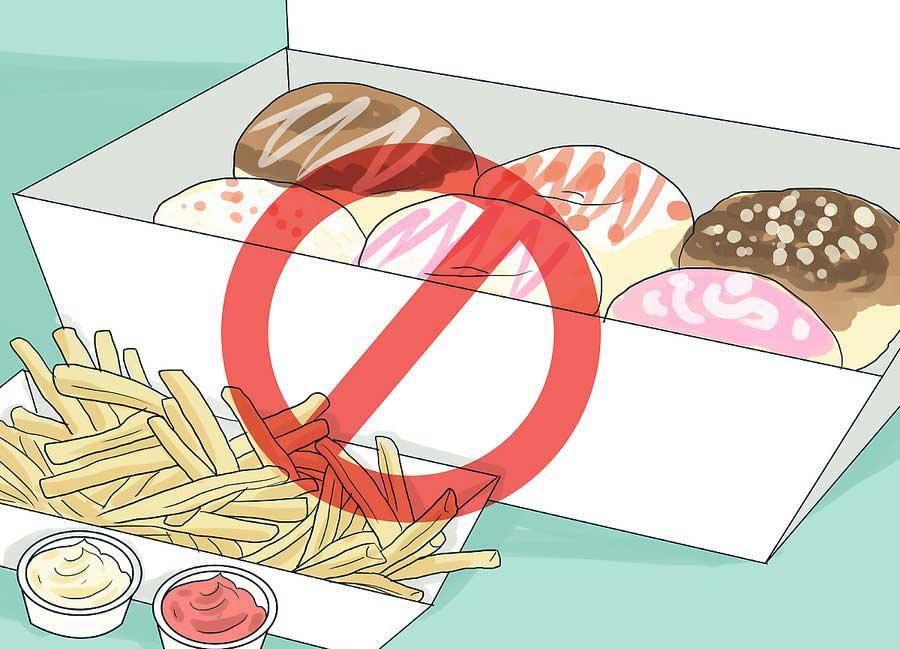 از مصرف نشاسته و شکر خودداری کنید