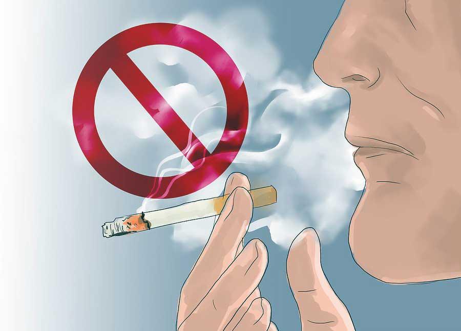 سیگار نکشید تا لاغر شوید