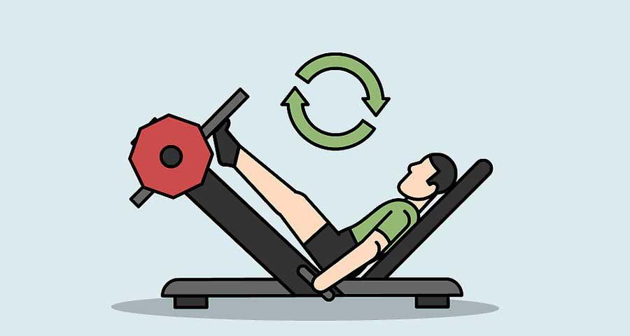 عدم اجرای تمرینات غیر کاربردی در برنامه افزایش حجم ساق پا