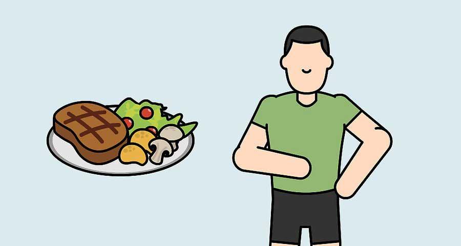 مصرف غذاهای سالم در یک رژیم متعادل