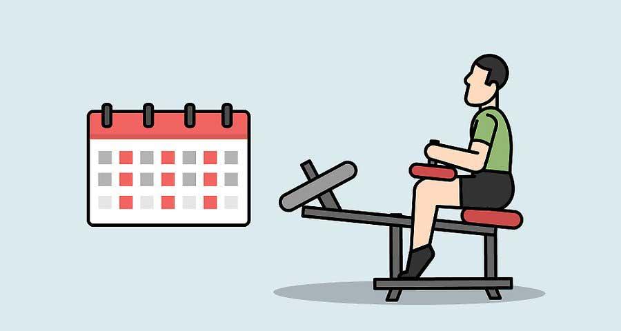 ادغام برنامه تمرینی افزایش حجم ساق پا با برنامه های روزمره
