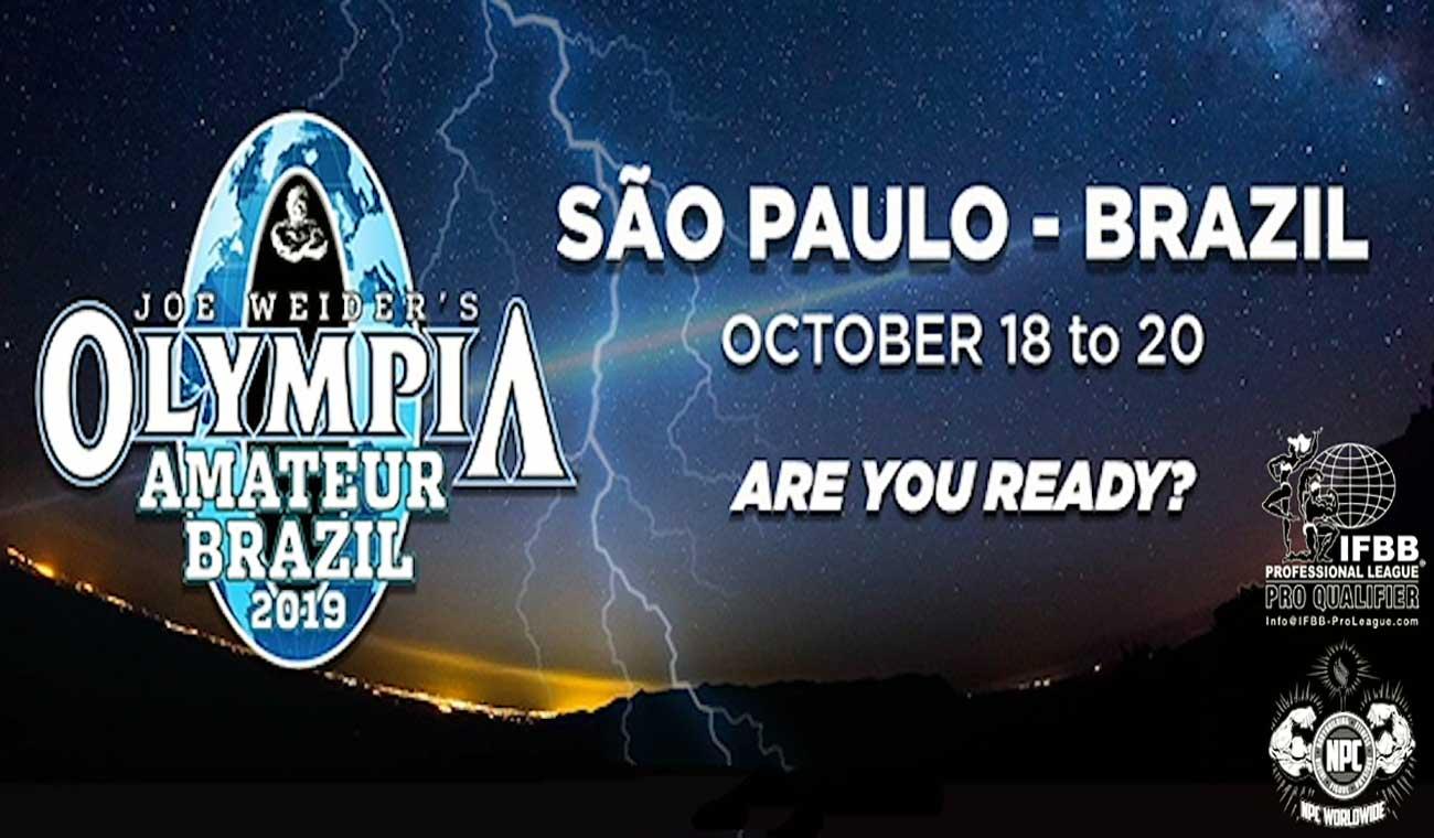 المپیا آماتور برزیل 2019