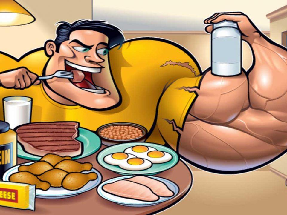 مواد پروتئینی کم کالری برای عضله سازی